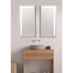Espejo con Marco de Aluminio